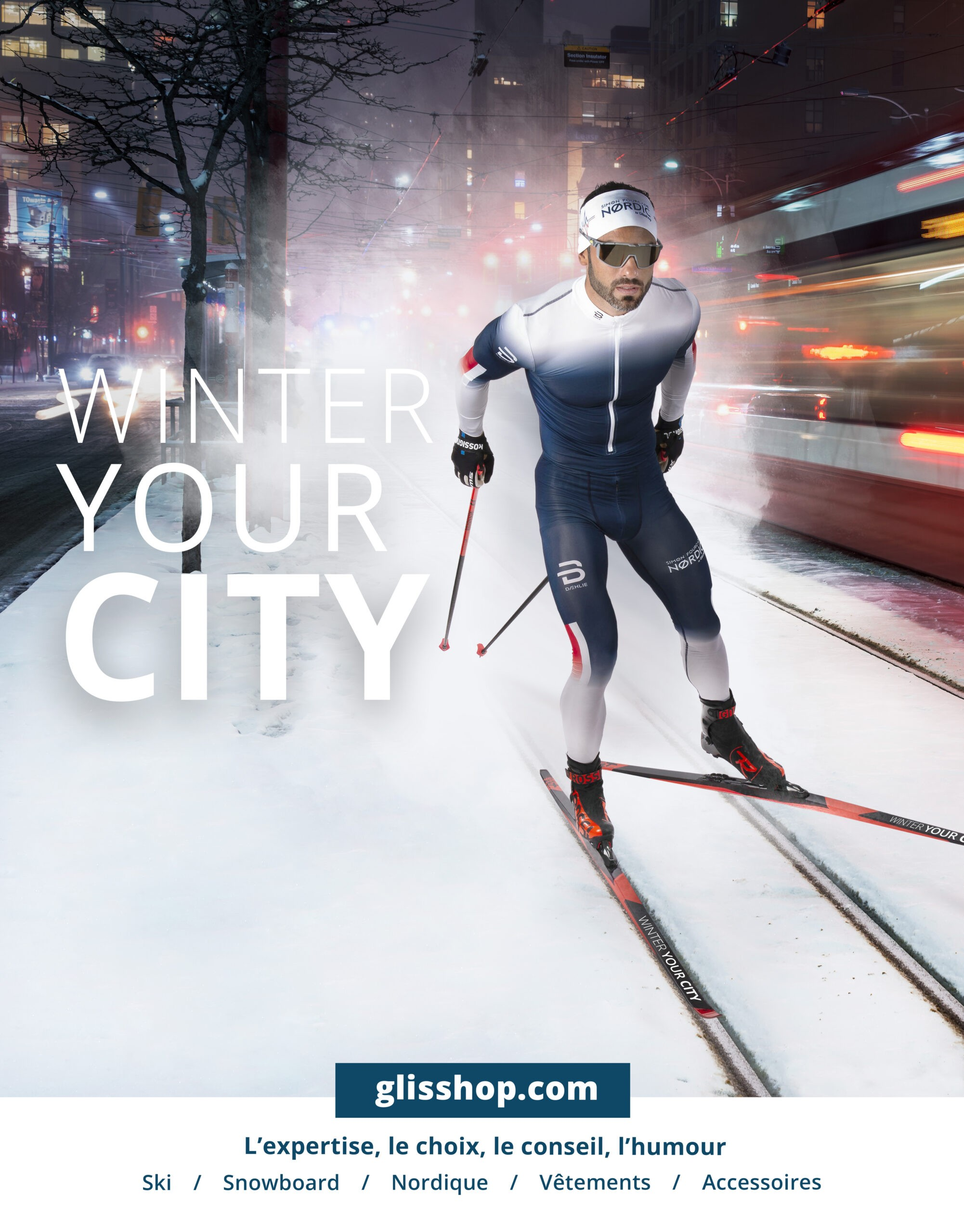 pistes de ski de fond en ville winter your city