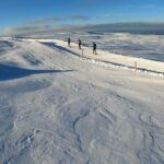 Sortie en ski de fond dans le Sancy