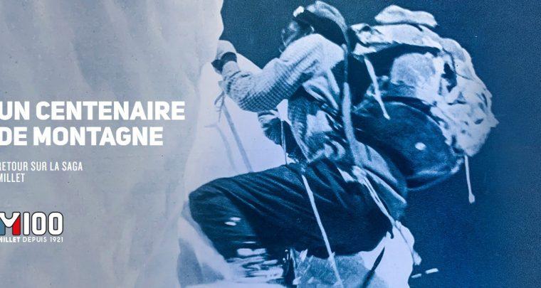 Millet : 100 ans d'innovation au service de l'alpinisme