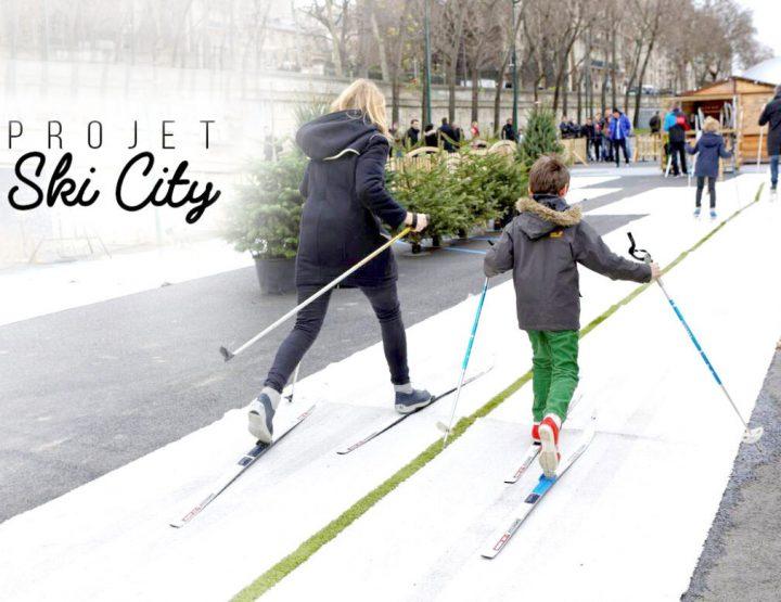 Des pistes de ski de fond dans les grandes villes de France dès l'hiver prochain