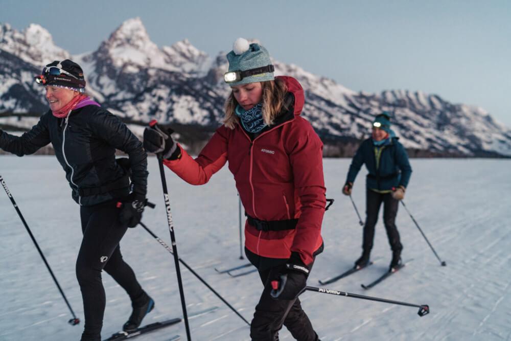 Technique de pas ski nordique
