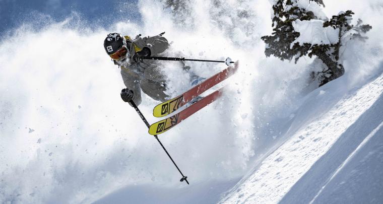 Nouveaux skis freeride Salomon QST